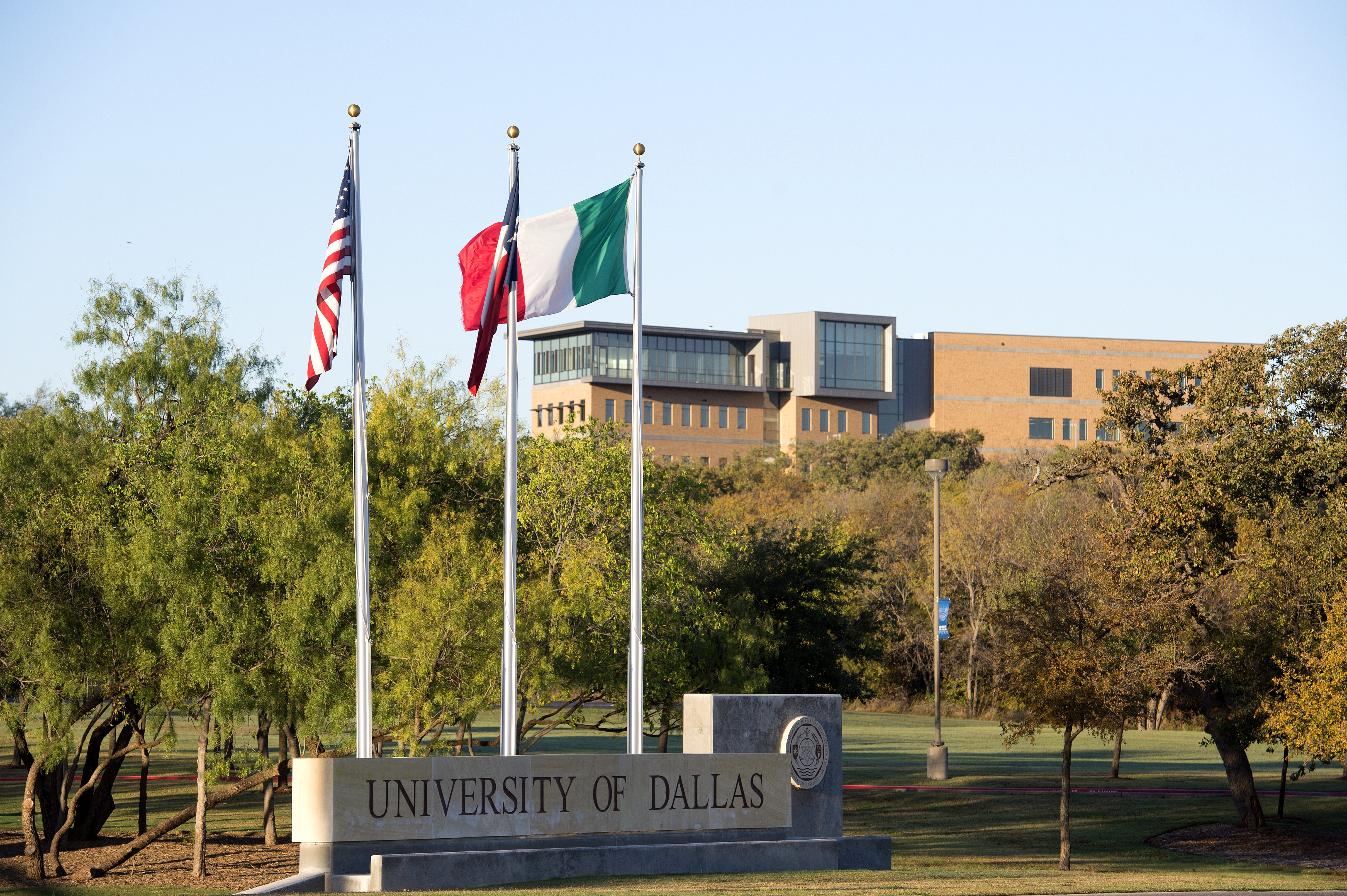 Sunrise photos of the University of Dallas Satish & Yasmin Gupta College of Business' new SB Hall taken Thursday, November 19, 2015 on the University of Dallas campus Dallas.
